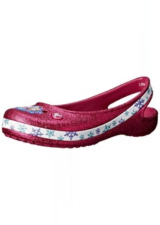 crocs Genna II Frozen Girls Slingback Flat (Toddler/Little Kid/Big Kid)  6 M US Big Kid