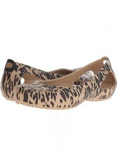 Crocs Kadee Animal Print Flat