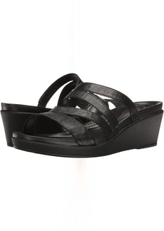 Crocs Leigh-Ann Mini Wedge Leather