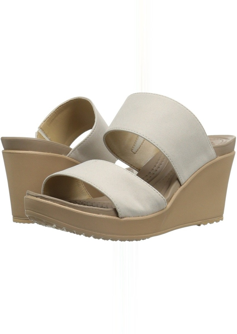 d308dbe429d3 On Sale today! Crocs Crocs Leigh II 2-Strap Wedge