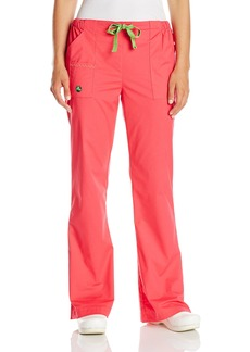 Crocs Medical Apparel Women's Petite The Penny Straight-Leg Cargo Scrub Pant