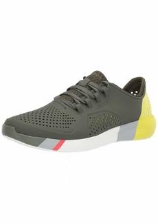 Crocs Men's LiteRide Colorblock Pacer Sneaker   M US