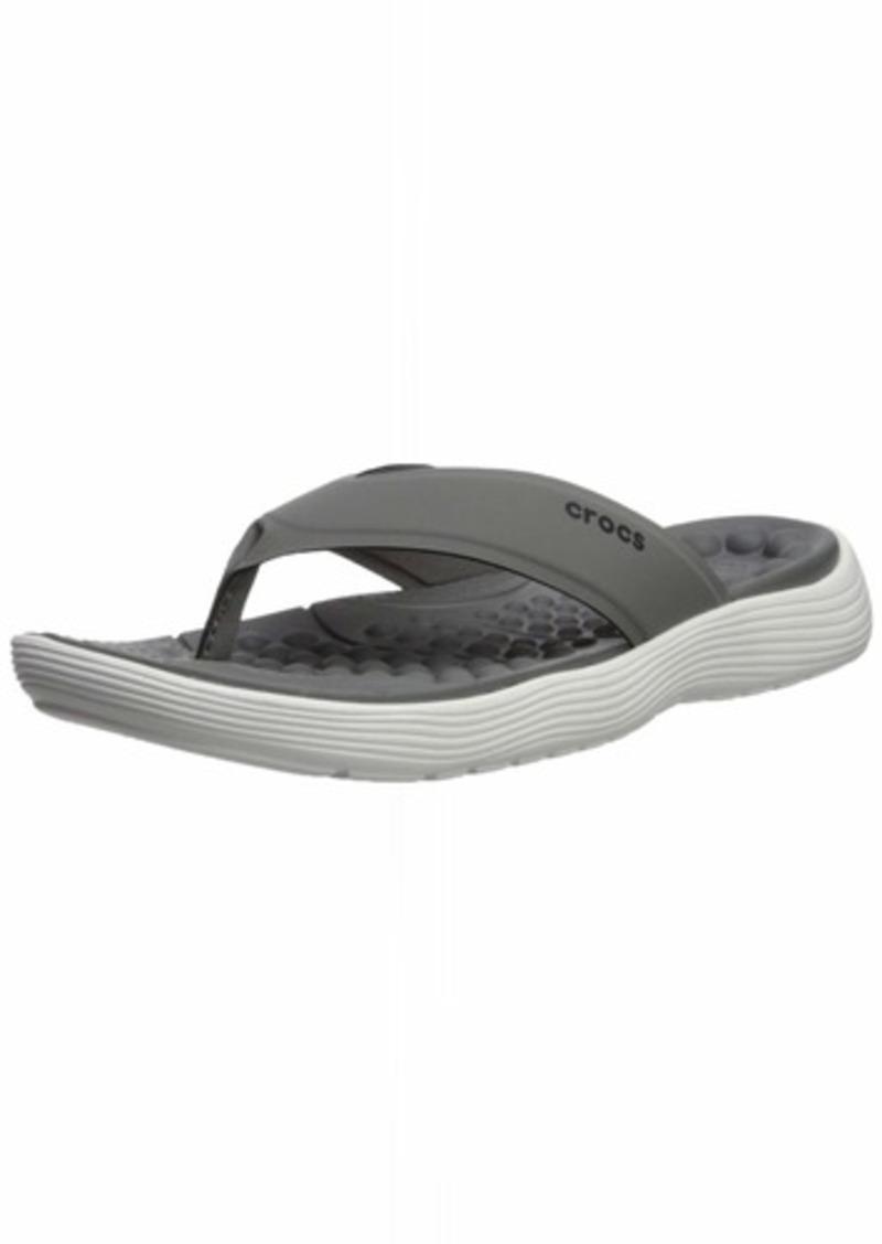 Crocs Men's Reviva Flip Flop   M US
