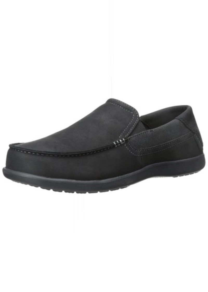 a25cccd35 Crocs crocs Men s Santa Cruz 2 Luxe Leather M Slip-On Loafer 8 M US ...