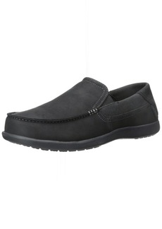 crocs Men's Santa Cruz 2 Luxe Leather M Slip-On Loafer  9 M US