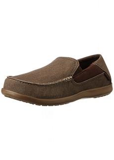 crocs Men's Santa Cruz 2 Luxe Slip-On Loafer  13 M US