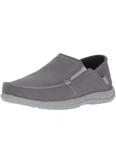 Crocs Men's Santa Cruz Convertible Slip-On Loafer Light Slate Grey