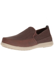 crocs Men's Santa Cruz Deluxe Slip-on Loafer   M US