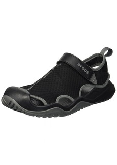Crocs Men's Swiftwater Mesh Deck Sandal Sport  15