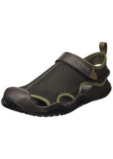 Crocs Men's Swiftwater Mesh Deck Sandal Sport   M US