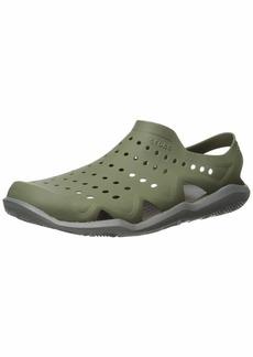 Crocs Men's Swiftwater Wave Sandal Water Shoe   M US