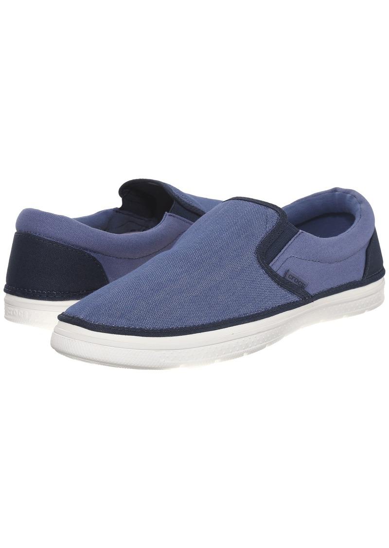 Crocs Mens Canvas Slip On Shoes