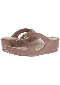 Crocs Sanrah Beaded Wedge Sandal