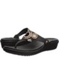 Crocs Sanrah Diamante Wedge Flip