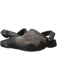 Crocs Swiftwater Leather Camp Clog