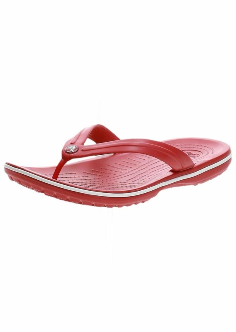 Crocs unisex adult Crocband | Slip on Sandals Shower Shoes Flip Flop  10 Women 8 Men US