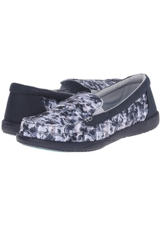 Crocs Walu II Striped Floral Loafer