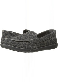 Crocs Walu Leopard Leather Loafer