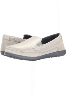 Crocs Walu Shimmer Leather Loafer