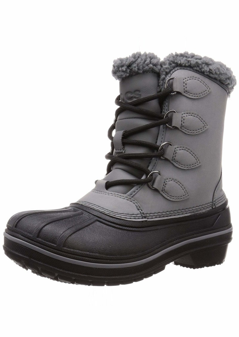 Crocs Women's AllCast II Boot Snow   M US
