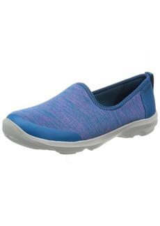 crocs Women's Busy Day Knit Skimmer Flat