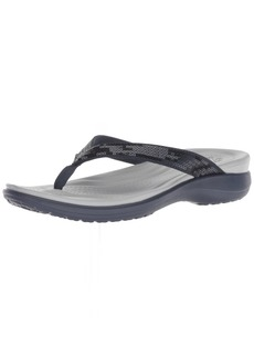 Crocs Women's Capri V Sequin W Flip-Flop   M US