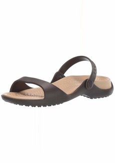 Crocs Women's Cleo Slide Sandal   M US
