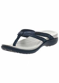 Crocs womens Crocs Women's Capri Strappy | Casual Comfortable Sandals for Women Flip Flop   US