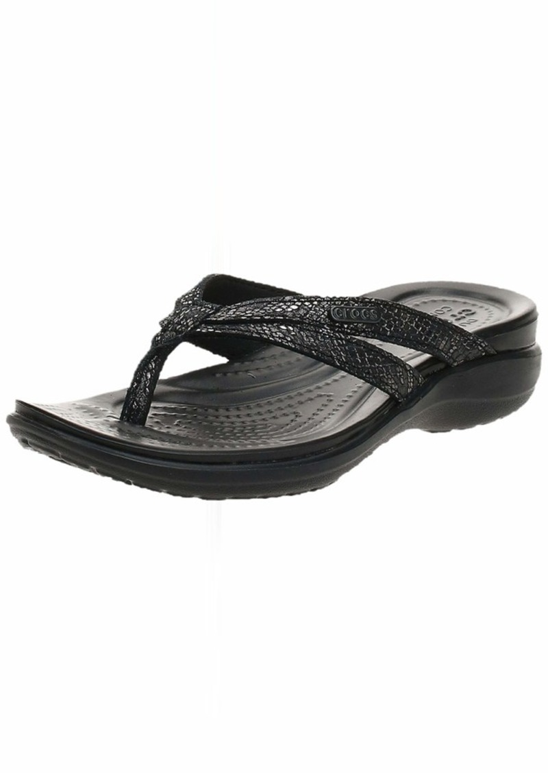 Crocs Women's Capri Strappy Flip Flops | Sandals for Women   Women