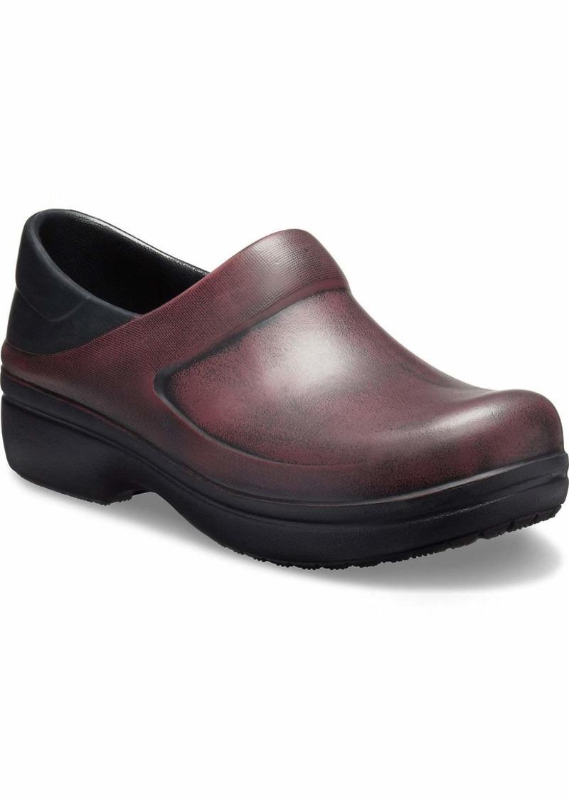 Crocs Women's Felicity Distressed Clog Shoe   M US