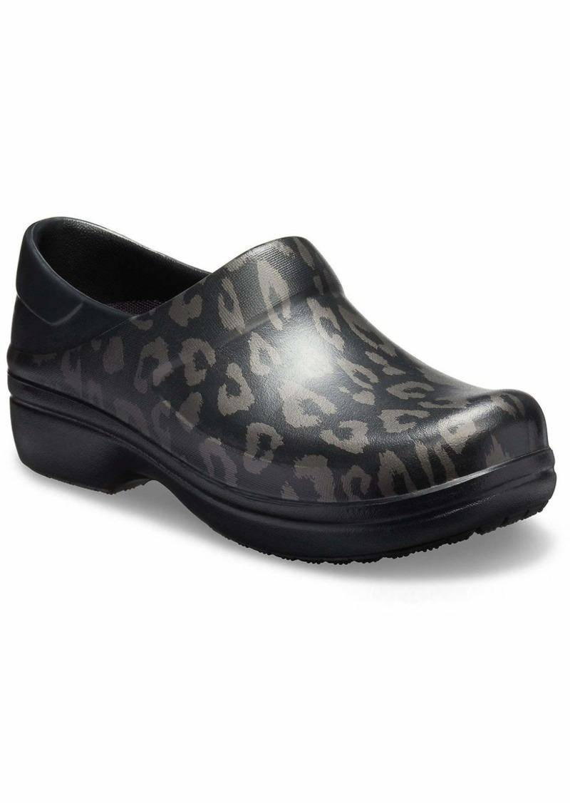 Crocs Women's Felicity Graphic Clog Shoe   M US