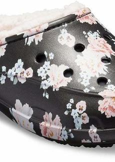 Crocs Women's Freesail Printed Floral Lined Clog Shoe   M US