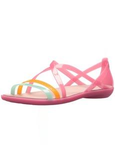 Crocs Women's Isabella Cut Strappy W Flat Sandal