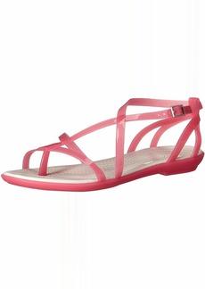 Crocs Women's Isabella Gladiator Sandal W Flat   M US
