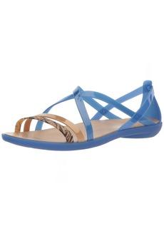 Crocs Women's Isabella GRPH Strappy Sandal Flat