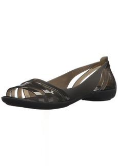 Crocs Women's Isabella Huarache 2 Flat W Sandal   M US