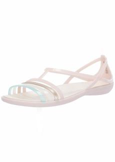 Crocs Women's Isabella Sandal Slide barely pink/oyster  M US
