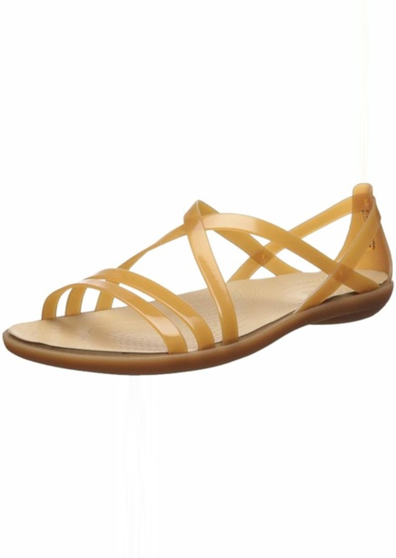 Crocs Women's Isabella Strappy Sandal Flat   M US