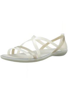Crocs Women's Isabella Strappy Sandal W Flat