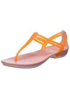 crocs Women's Isabella T-Strap Flip Flop   M US