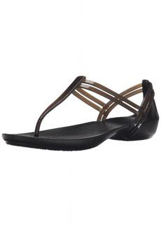 Crocs Women's Isabella T-Strap Sandal   M US