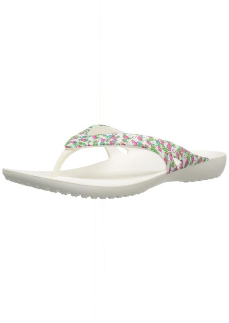 crocs Women's Kadee Ii Graphic W Flip Flop   M US