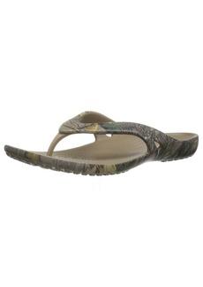 crocs Women's Kadee Ii Realtree Xtra W Flip Flop   M US
