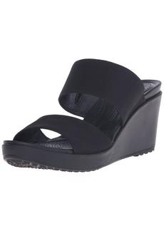 Crocs Women's Leigh II 2-Strap Wedge