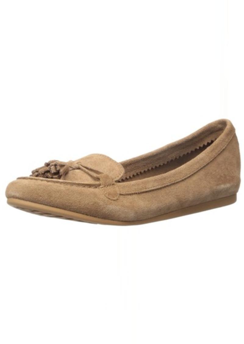 crocs Women's Lina Suede Slip-On Loafer Hazelnut  M US