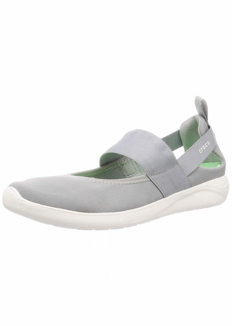 Crocs Women's LiteRide Mary Jane Sneaker | Comfort Slip On Shoes Flat   M US