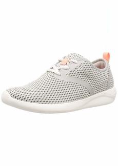 Crocs Women's LiteRide Mesh Lace-Up Sneaker Pearl White  M US