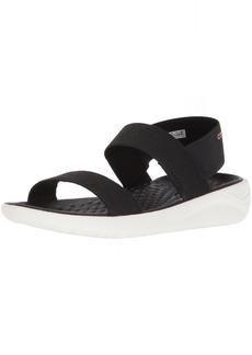 Crocs Women's LiteRide Sandal black/white  M US