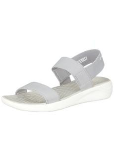 Crocs Women's LiteRide Sandal light grey/white