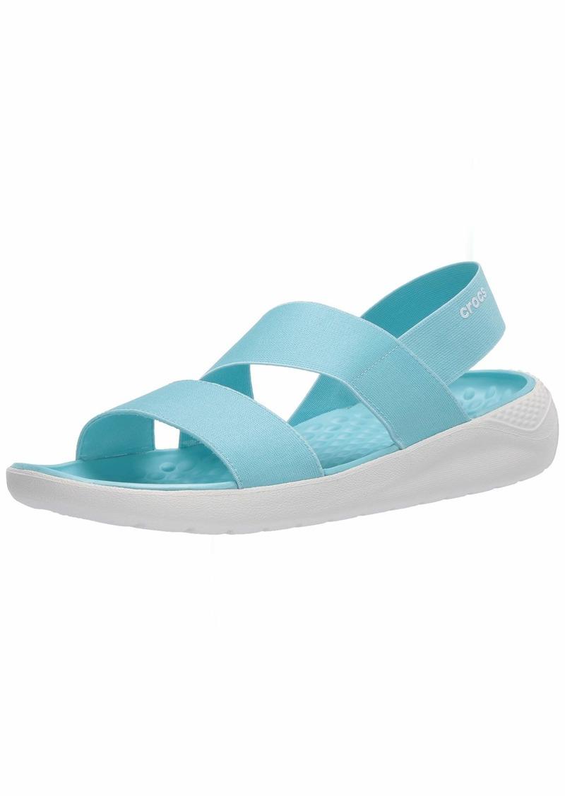 Crocs LiteRide Stretch Sandals for Women | Slip On Shoes   M US